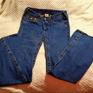 True Religion Jeans Twisted Flare  [Joey ] Size 25
